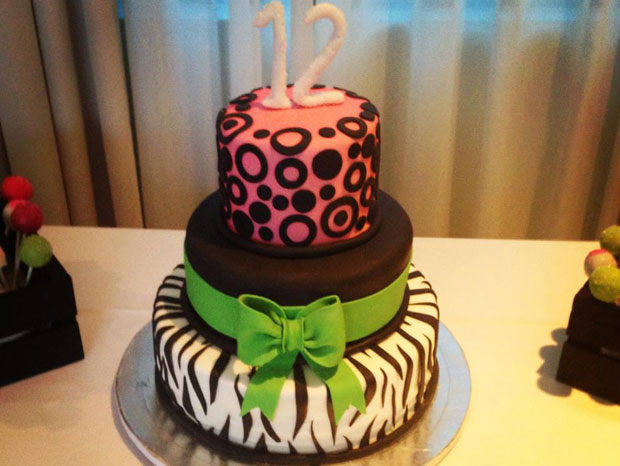 Bat Mitzvah Celebration Cake!